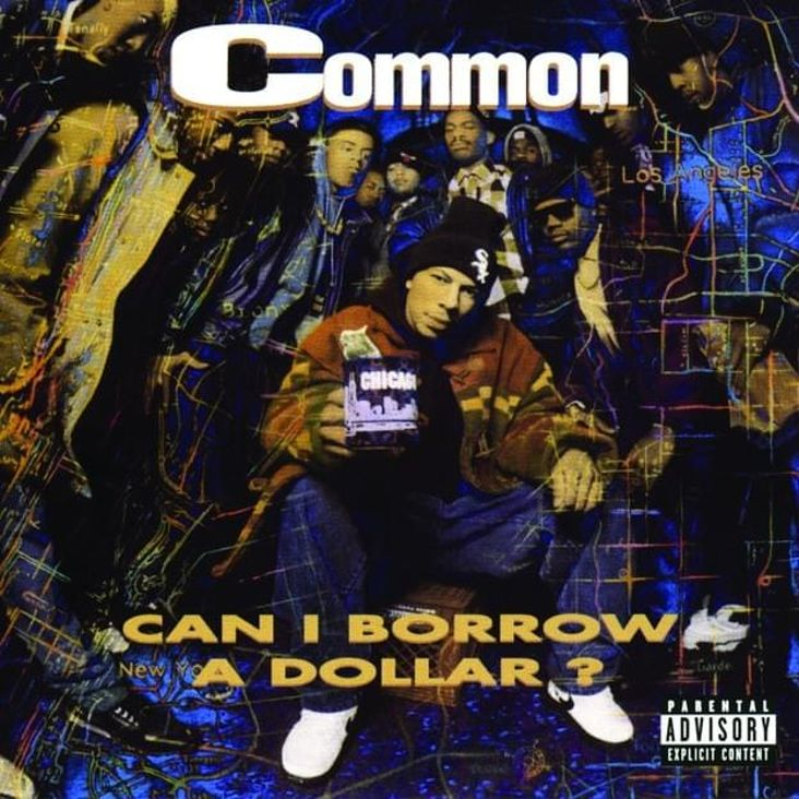 Album Title: Can I Borrow a Dollar? by: Common
