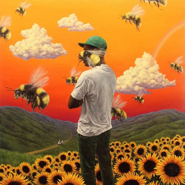 Album Title: Flower Boy by: Tyler, The Creator