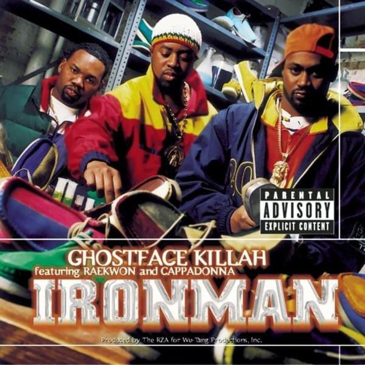 Album Title: Ironman by: Ghostface Killah