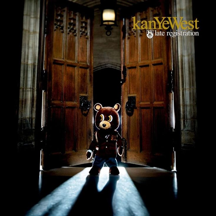 Album Title: Late Registration by: Kanye West