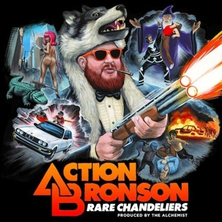Album Title: Rare Chandeliers by: Action Bronson