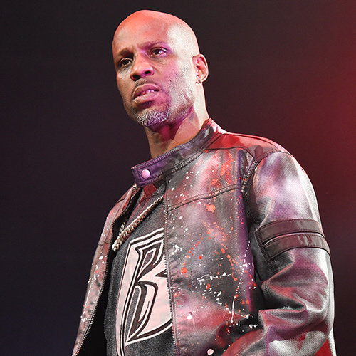 Headshot of hip-hop artist DMX