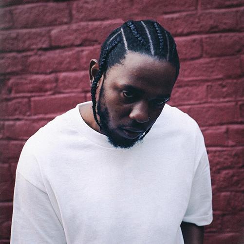 Headshot of hip-hop artist Kendrick Lamar