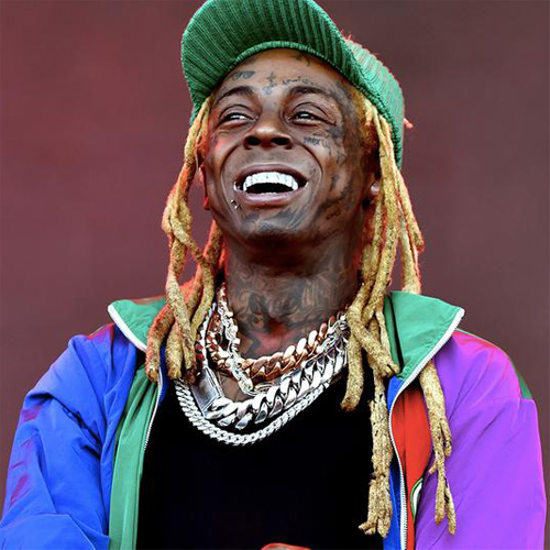 Headshot of hip-hop artist Lil Wayne