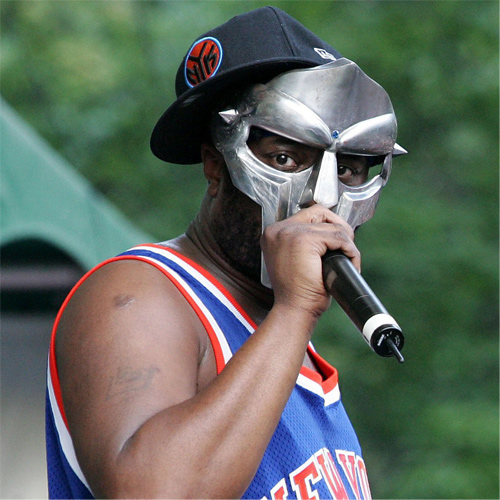 Headshot of hip-hop artist MF DOOM