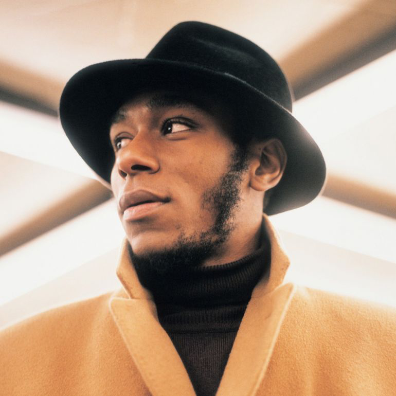 Headshot of hip-hop artist Mos Def