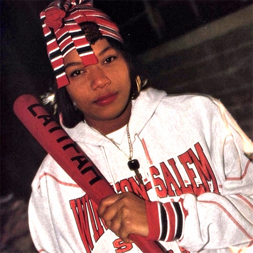 Headshot of hip-hop artist Queen Latifah
