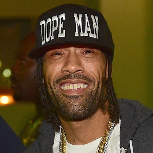 Headshot of hip-hop artist Redman